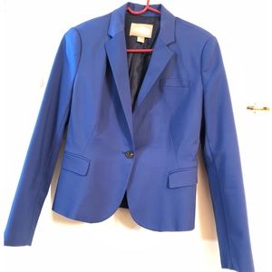 Forever 21 Blue Button Blazer